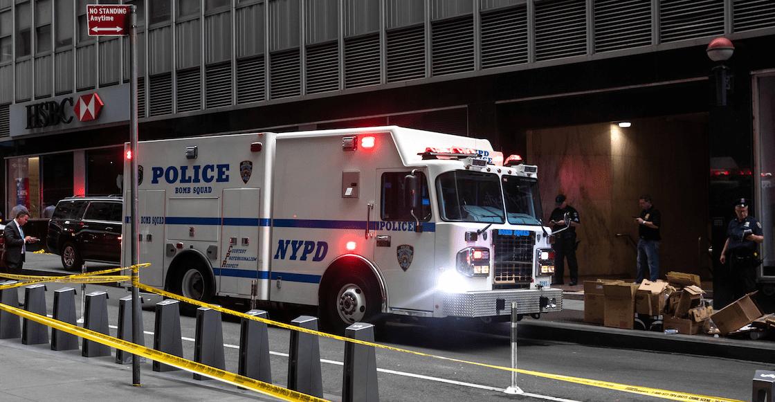 Investigan paquetes sospechosos en estación de metro de Nueva York