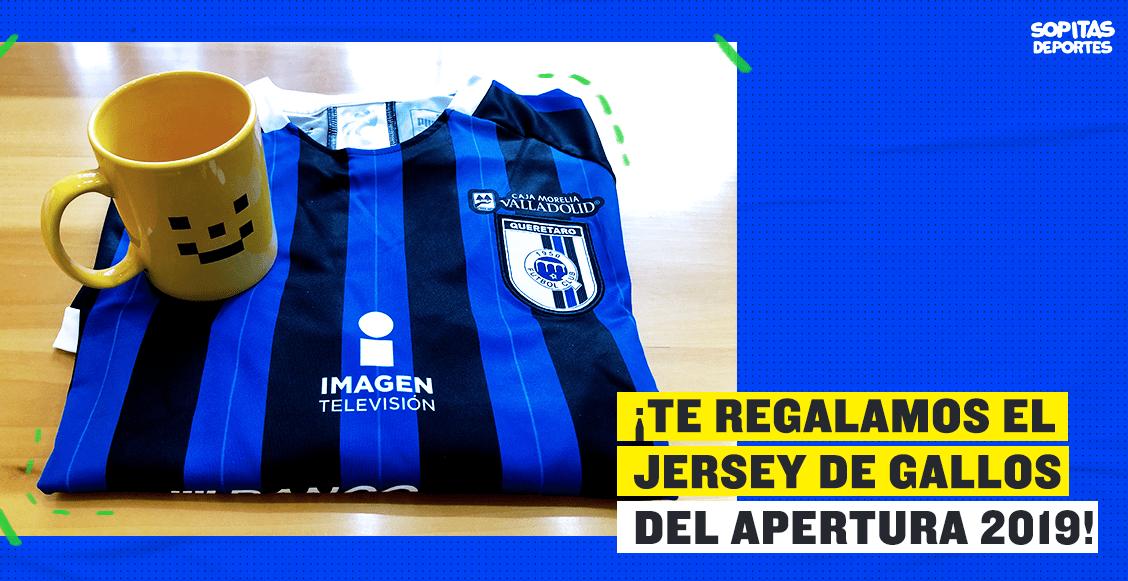 ¡Sé un superlíder! Te regalamos el jersey de Querétaro para el Apertura 2019