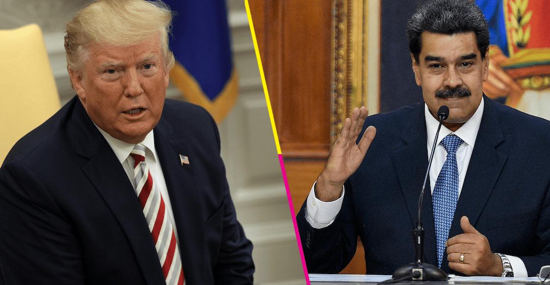"""¿Sorpresa? Trump y Maduro confirman """"contacto"""" entre funcionarios de EUA y Venezuela"""