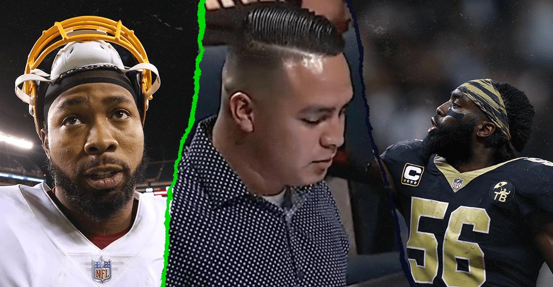El noble gesto de dos jugadores de la NFL con un indocumentado