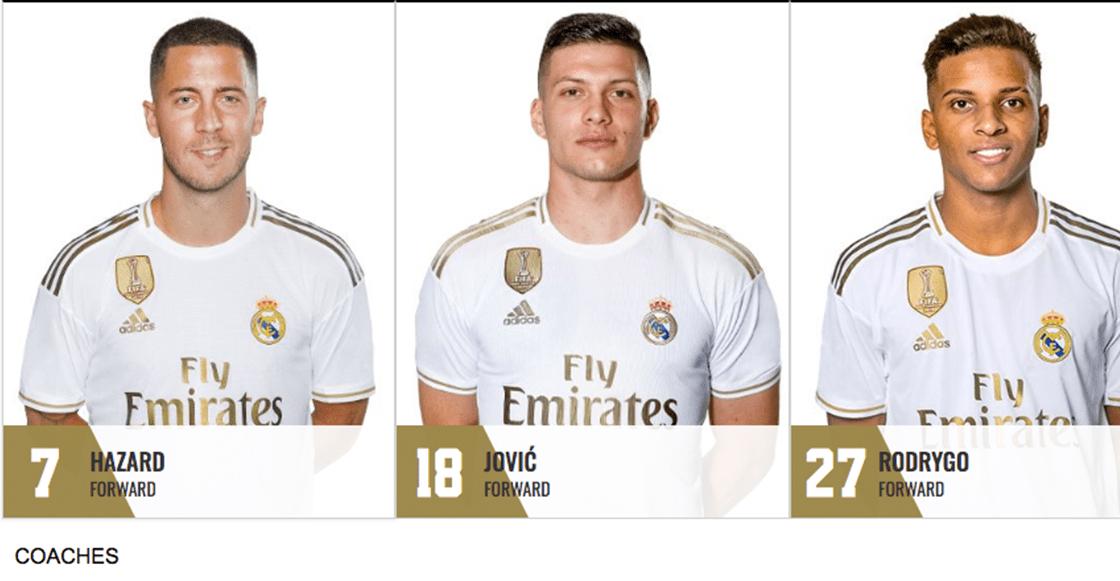 ¡YA ES OFICIAL! Eden Hazard se queda con el '7' del Real Madrid