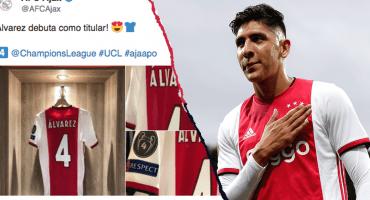¡Rómpela Machín! Edson Álvarez ya debutó en la Champions League