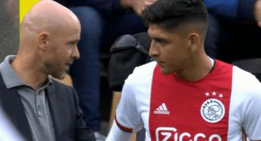 ¡Llegó el día! Edson Álvarez debutó con el Ajax en la Eredivisie