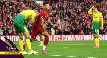 En siete minutos cayó el primer gol de la Premier League... ¡Y fue autogol!