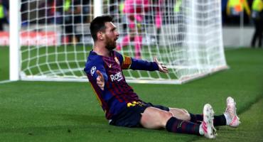 Este GOLAZO de Messi fue elegido como el mejor del año por la UEFA