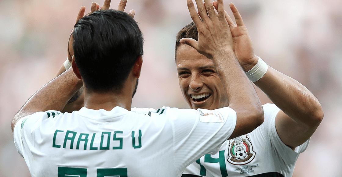"""""""SOBRADO"""": El mensaje de 'Chicharito' a Vela tras su golazo en la MLS"""