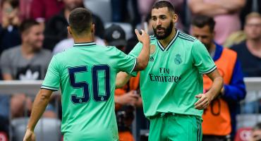 ¡Por fin! Así fue el primer gol de Eden Hazard con el Real Madrid