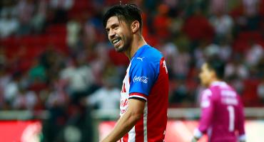 ¡Por fin! Así fue el primer gol de Oribe Peralta con Chivas