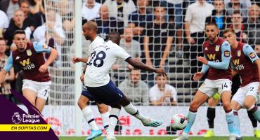 Así fue el primer GOLAZO de Tanguy Ndombélé con el Tottenham