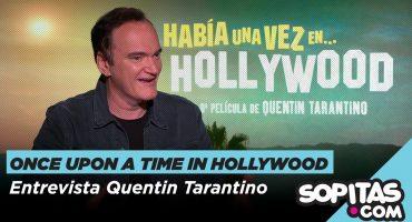 Érase una vez en Hollywood: Entrevista con Quentin Tarantino