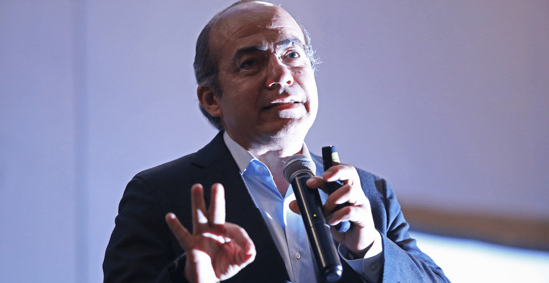 Calderón dice que tiene la clave para terminar con la inseguridad en México, ¿cuál es?