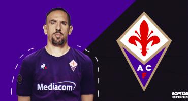 ¡Sigue la leyenda! Franck Ribéry es nuevo jugador de la Fiorentina