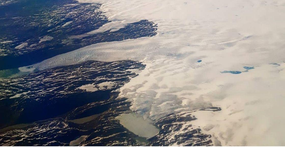 Pero no pasa nada: Groenlandia pierde 197 mil millones de toneladas de hielo en un mes