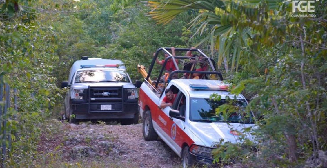 Autoridades de Quintana Roo hallan en un pozo a ciclistas reportados como desaparecidos