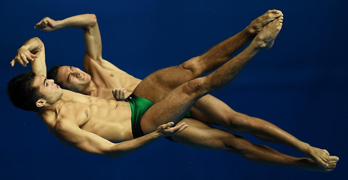¡Son dorados! Iván García y Kevin Berlín ganaron medalla de oro en clavados sincronizados