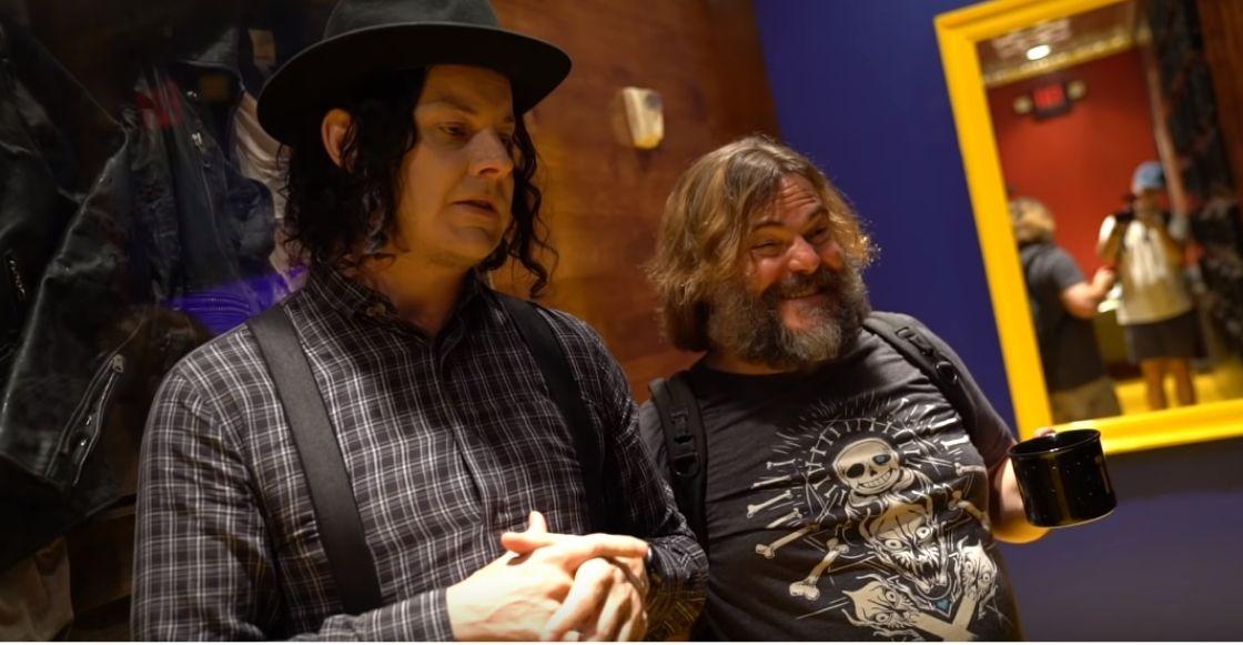 ¡Jack Grey es un hecho! Jack Black y Jack White sí grabaron juntos y este video es la prueba
