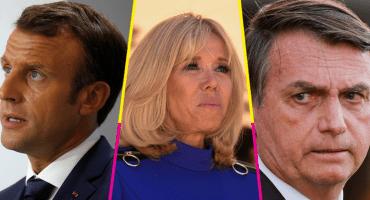 Bolsonaro se burla de Brigitte Macron y así responde el presidente de Francia