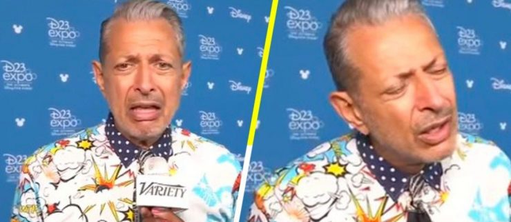 ¡Avísenle! Así reaccionó Jeff Goldblum al enterarse de la salida de Spider-Man del MCU