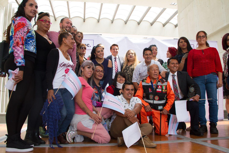 Personas trans de alcaldía Cuauhtémoc recibirán apoyo de 2 mil pesos mensuales