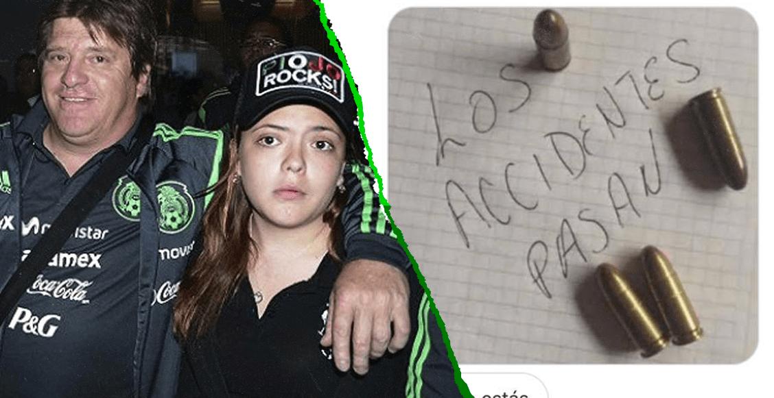 La hija de Miguel Herrera denunció amenazas de muerte por salida de Jérémy Ménez