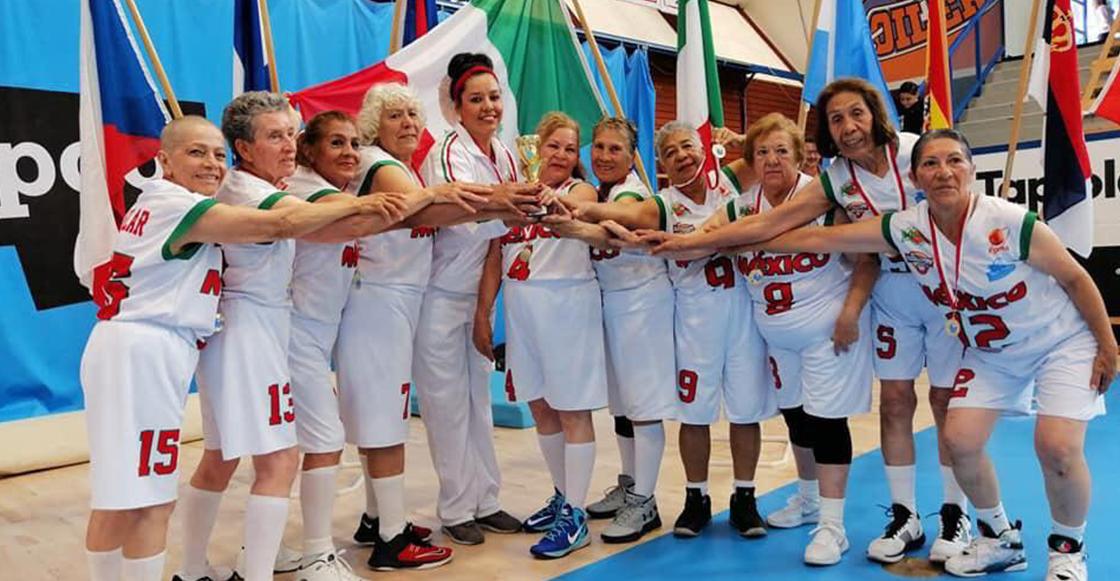'Las Adelitas': El equipo mexicano campeón del mundo compuesto por mujeres de 65 años