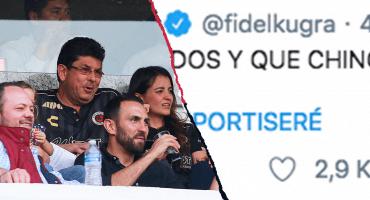 Le hackearon la cuenta de Twitter a Fidel Kuri y hasta del América se acordaron