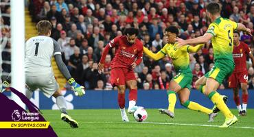 Los 5 goles con los que el Liverpool y Norwich City abrieron la Premier League