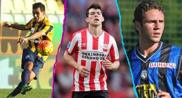 'Chucky' Lozano y los futbolistas mexicanos que han jugado en la Serie A de Italia