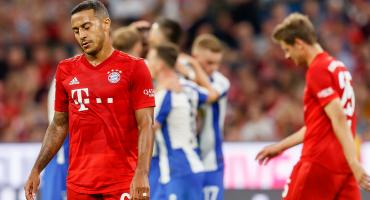 Van los goles: Hertha le empató al Bayern Múnich en el arranque de la Bundesliga