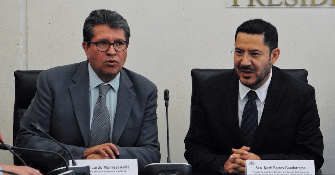¡Hay pleito en Morena! Batres acusa a Monreal de ensuciar la renovación de la Presidencia en el Senado