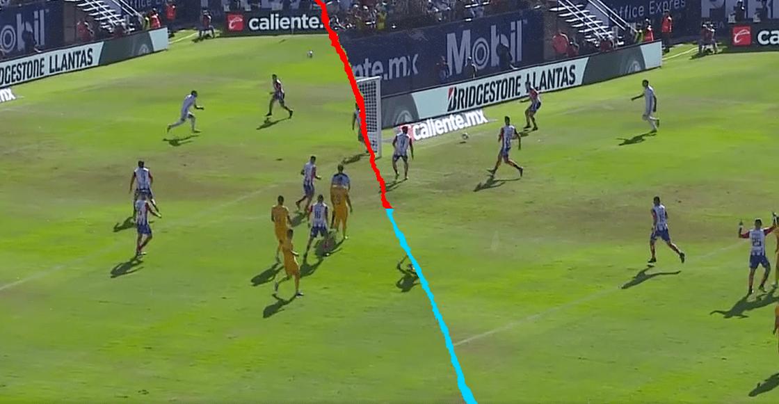 Matías Catalán hizo el OSO del año en la Liga MX, pero lo salvó un fuera de lugar