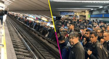 Una persona falleció tras 'caer' en las vías de la L2 del Metro CDMX