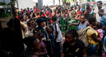 Migrantes africanos y de Haití anuncian manifestación en Chiapas