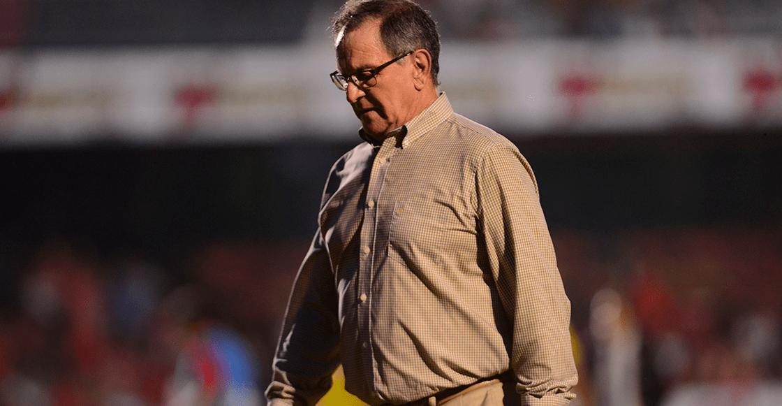¡Se va! 'Ojitos' Meza renunció como técnico de Veracruz