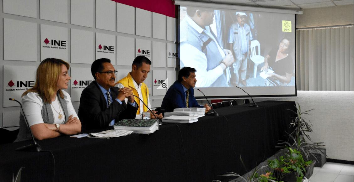 Y el PRD presenta denuncia contra AMLO y los 'Servidores de la Nación'