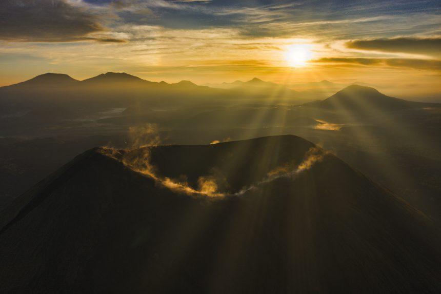 El volcán Paricutín, visto como nunca antes