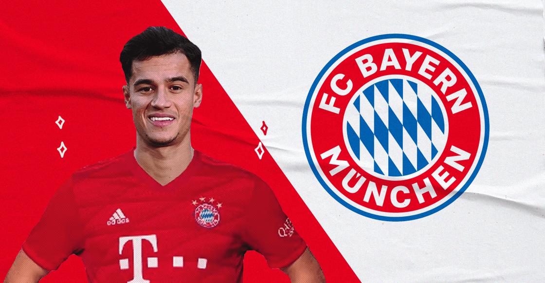 ¡Ya es oficial! Philippe Coutinho fichó con el Bayern Múnich