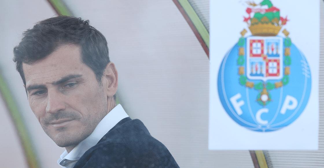 ¿Y 'Marche'? Porto registró a Iker Casillas para jugar la liga