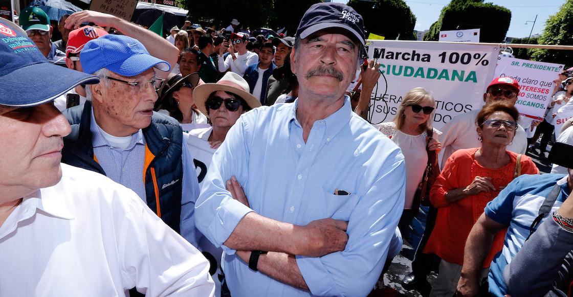 Que siempre no: Vicente Fox renuncia a la seguridad del gobierno de AMLO