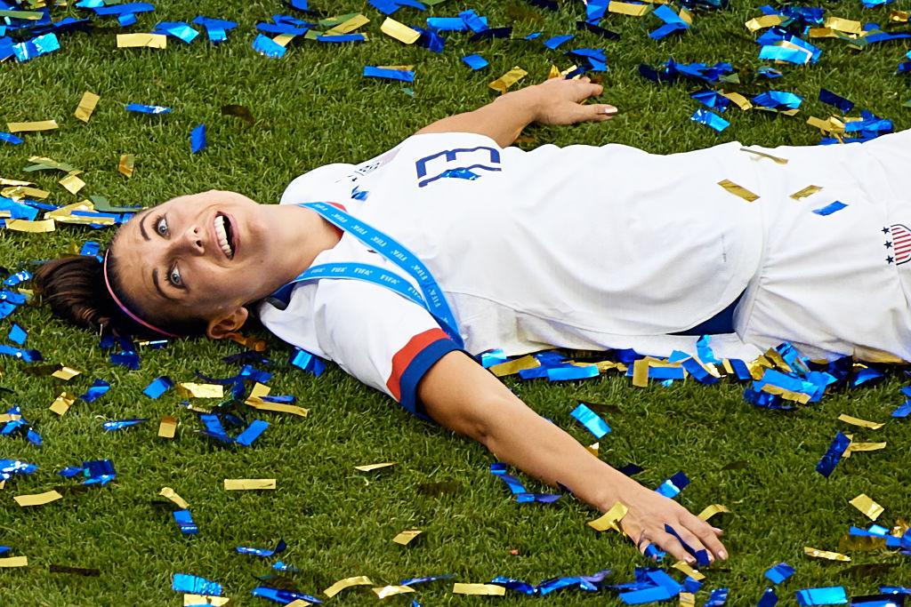 """Alex Morgan y su ambición de ganar una tercera Copa del Mundo: """"Soy joven y puedo dar más"""""""