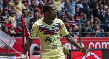 El gol de Renato Ibarra ante Toluca que coloca al América como líder de la Liga MX