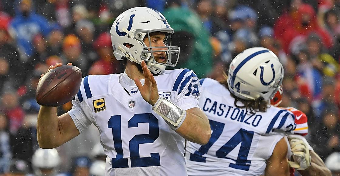 Andrew Luck comunica su retiro a los Colts después de lidiar con las lesiones