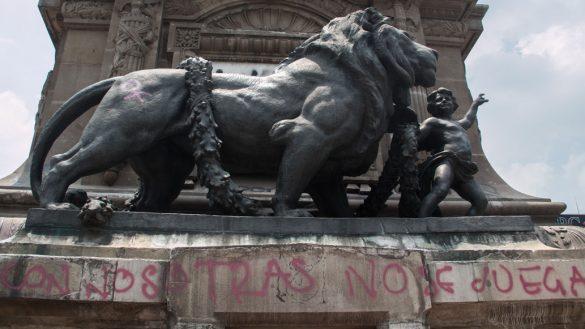 Secretario de Cultura aclara que cierre del Ángel de la Independencia fue por restauración de daños del 19S no por grafitis