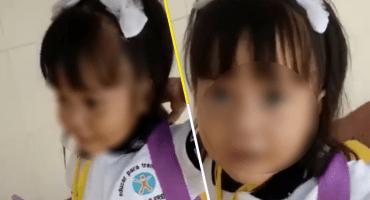 Bailamos, cantamos, echamos desm@%&3: El video de la niña en su primer día de clases que se hizo viral