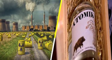 ¡Salud!  'Atomik', el primer vodka producido en Chernóbil libre de radioactividad 🥃☢️