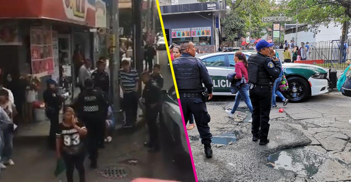 Se registró una balacera muy cerca de la estación del metro Copilco, en CDMX