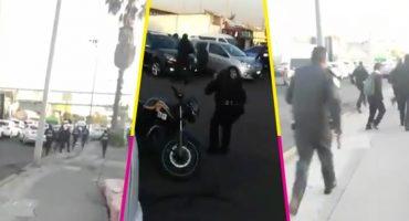 Balacera entre delincuentes y policías deja a dos heridos en la Gustavo A. Madero
