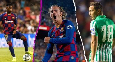 El debut de la joya culé, doblete de Griezmann y el papel de los mexicanos en la goleada del Barcelona sobre el Betis
