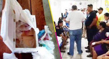 Hospital de Chiapas entregó basura en lugar de cuerpo de bebé