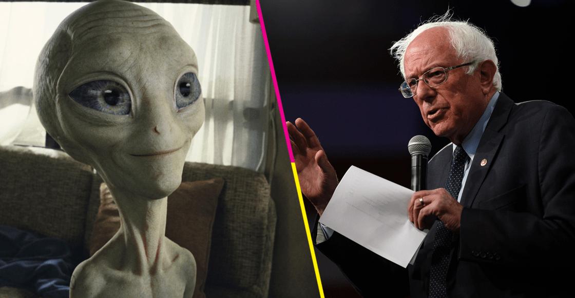 Bernie Sanders promete revelar todo lo que EUA sabe de OVNIs si gana la presidencia